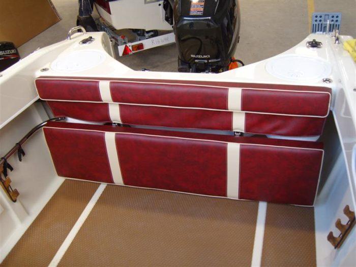 Rear Folding Bench Seat