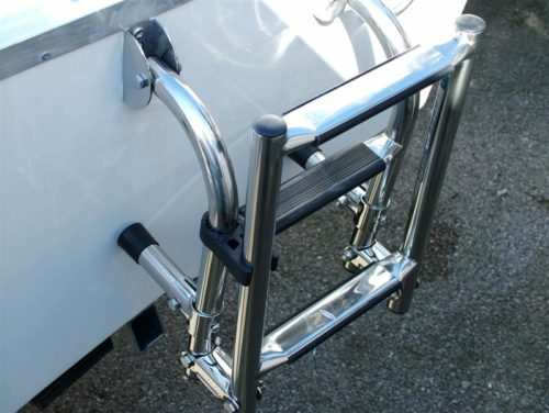 Warrior Stainless Steel Ladder