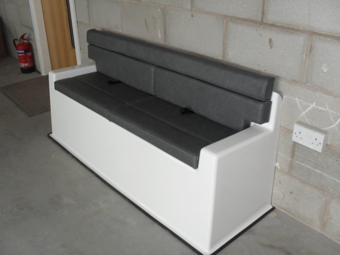 Rear Fixed Bench Seat