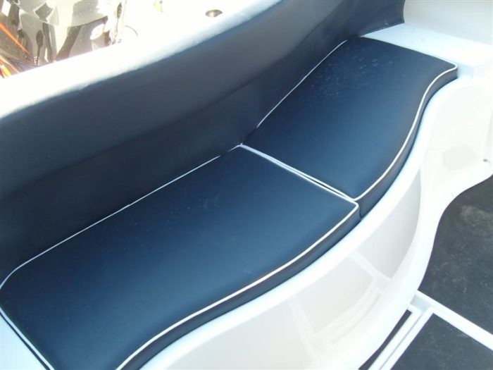 Rear Fixed Curved Bench Seat