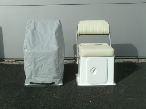Warrior cover for seat and box