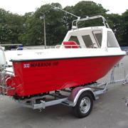 Warrior Boats Coloured Hull