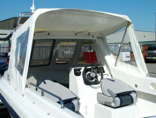 Warrior Boats Half Canopy