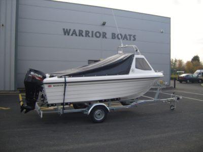 Warrior 165 with Suzuki 70hp