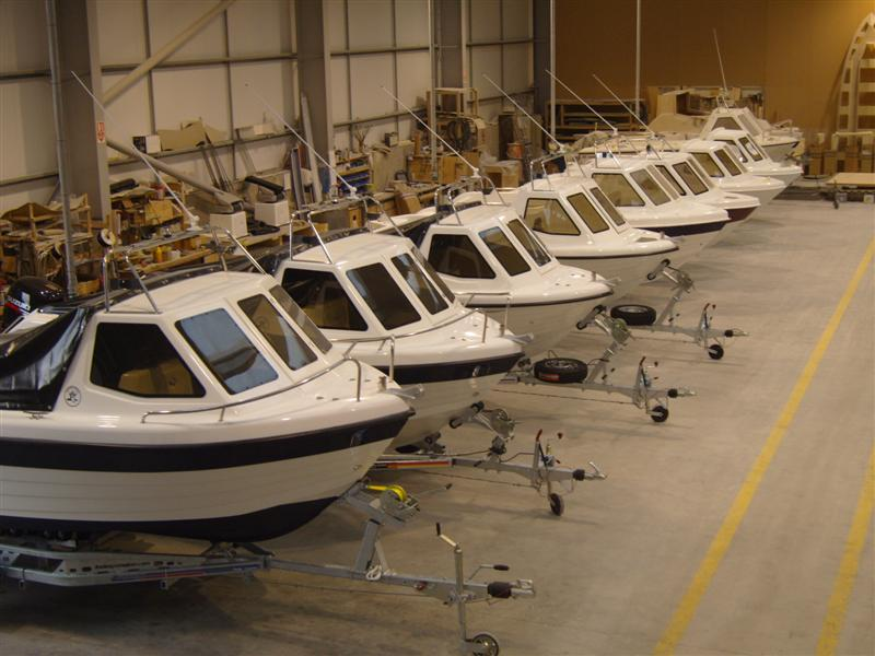 Warrior Boats in Production