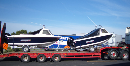 Warrior Boats for Export