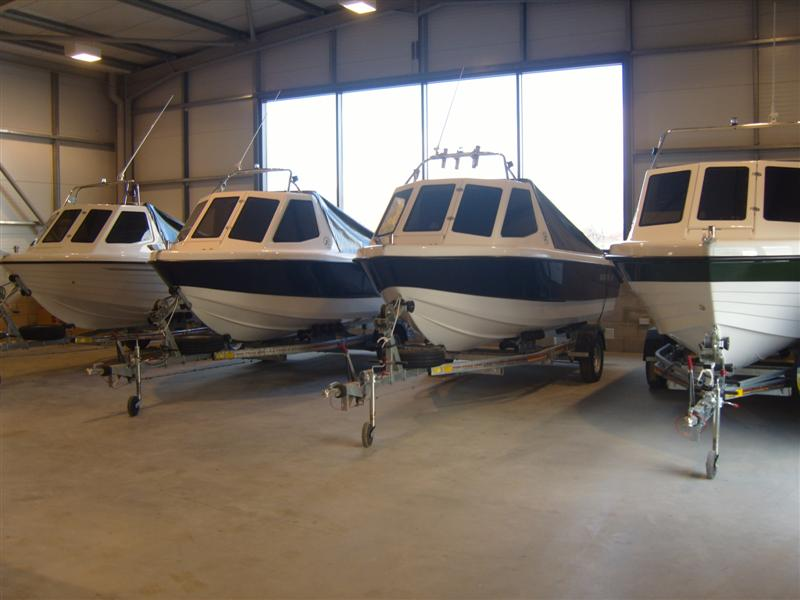 Warrior Boats Ready for Collection