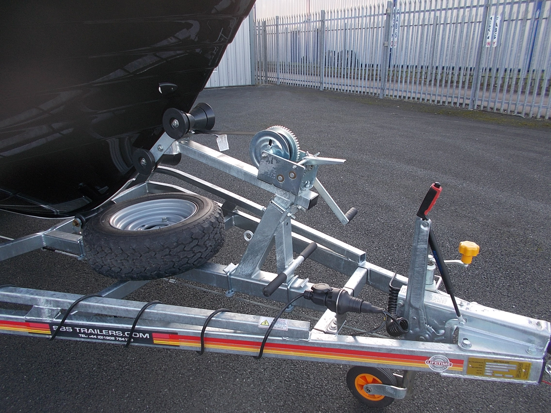 Warrior 175 Front Trailer View