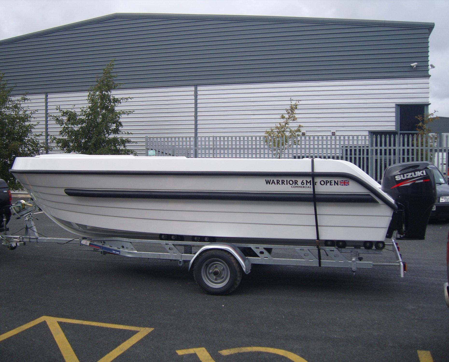 Warrior 6M Open Boat