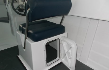 STD Flip Helm Seat & Storage Box