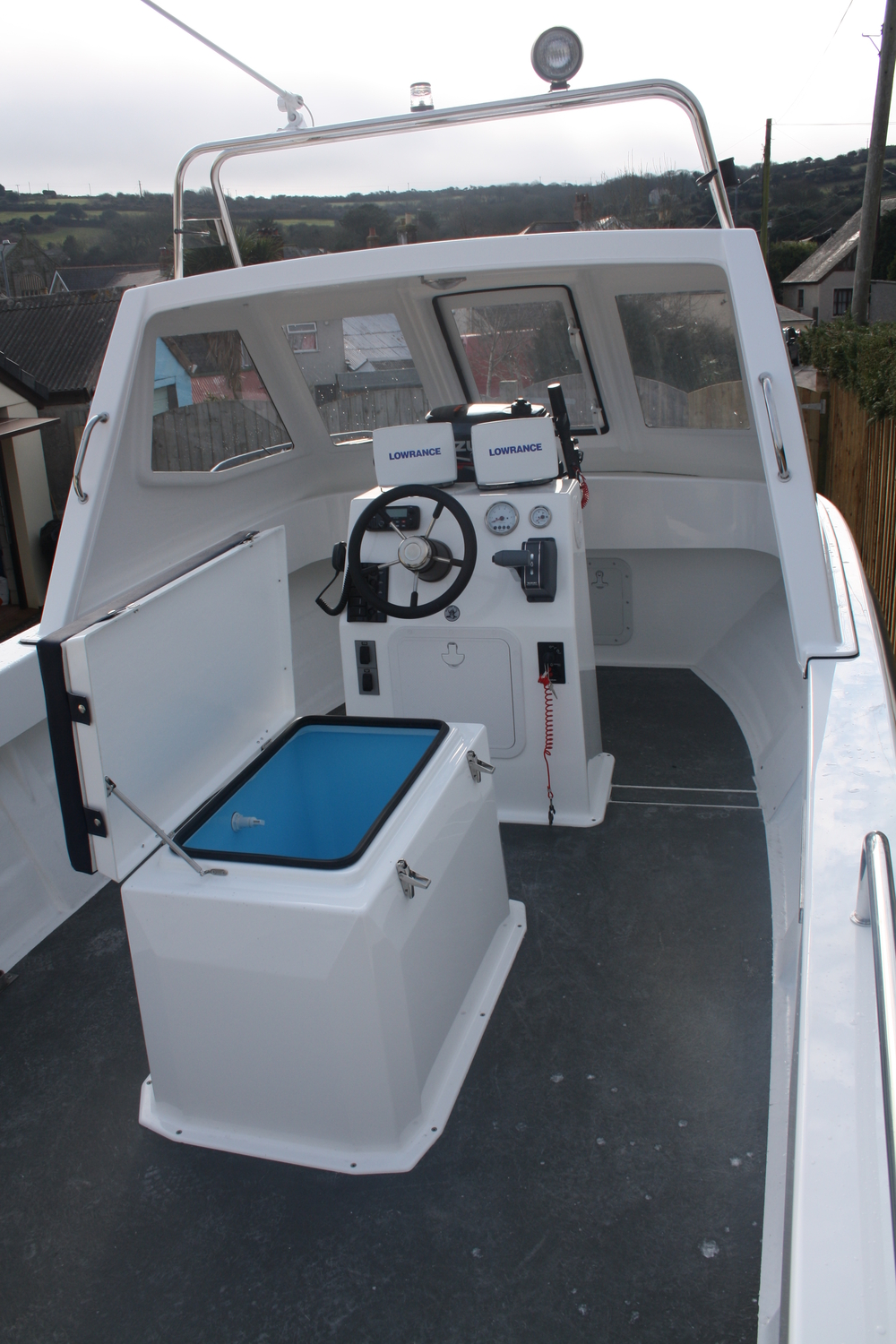 Warrior 6M Front Interior