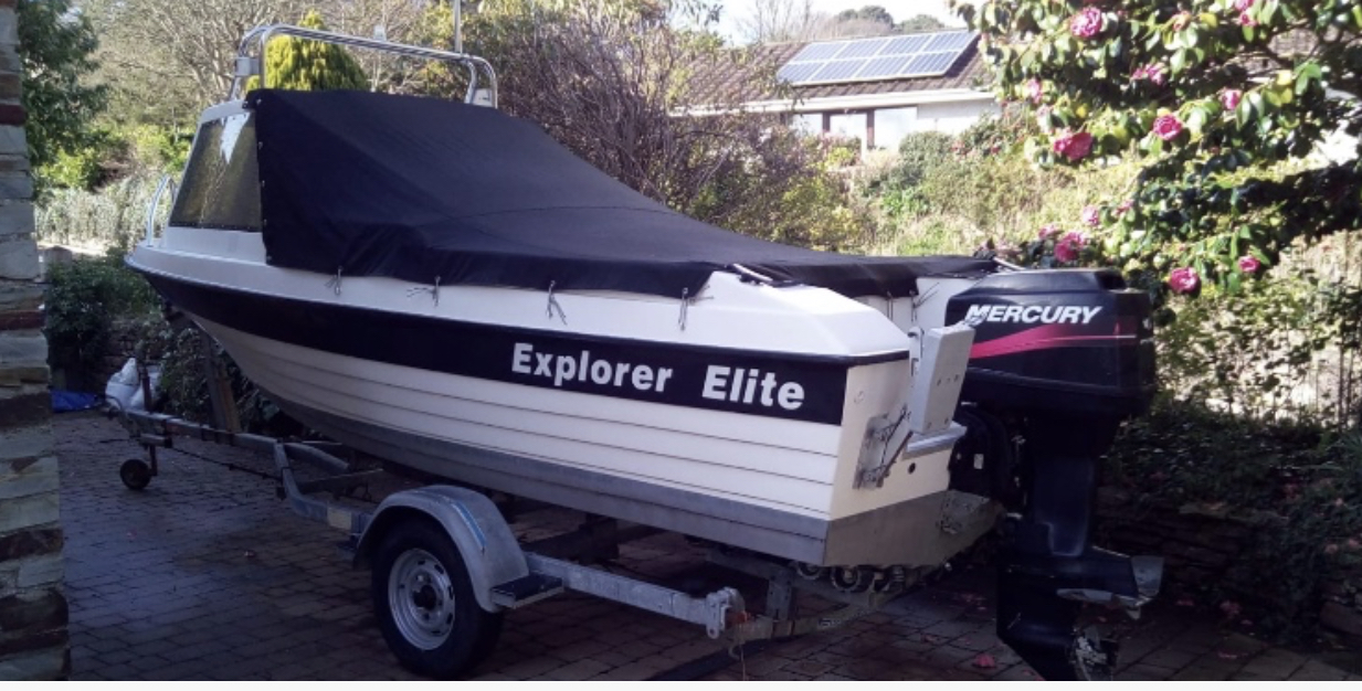 Explorer Elite 2004 with Mercury Outboard 60hp
